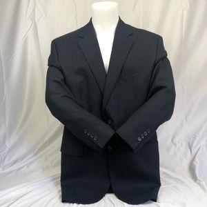 Izod Navy Dark Blue Luxury Suit Blazer Jacket Coat